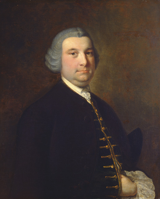 Joseph Wright, 'Portrait of a Gentleman', ca. 1760, National Gallery of Art, Washington, D.C.