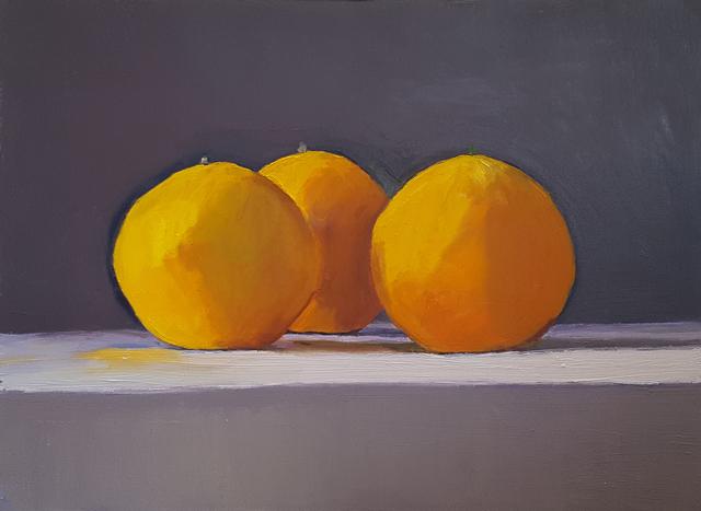 , 'Three Oranges,' 2018, Craig Krull Gallery