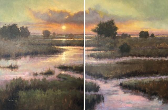 , 'Mandarin Creek, I & II,' 2018, Meyer Vogl Gallery