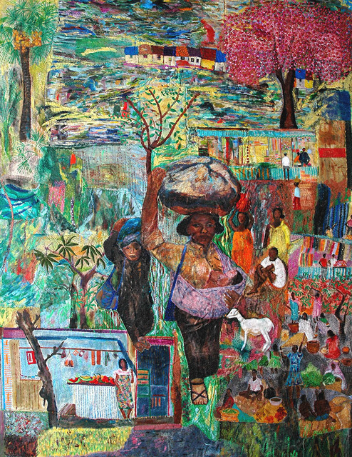 , 'The village where I came from,' 1991, Pacita Abad Art Estate