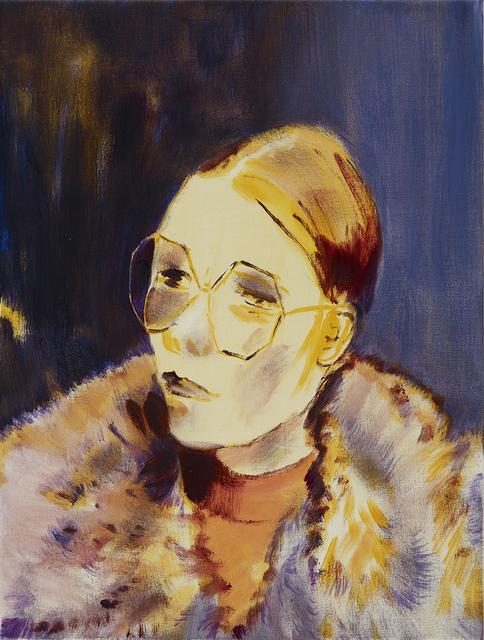 , 'Fur Coat and Sunglasses,' 2019, bo.lee gallery