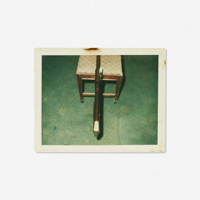 Andy Warhol, 'Untitled (Rifle on a Chair)', Rago/Wright