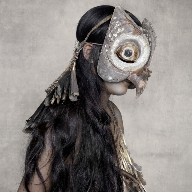 , 'Young Woman with Owl Mask, Sunda Islands,' 2013, Addicted Art Gallery