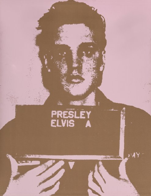Russell Young, 'Army Elvis', 2004, Painting, Acrylic and silkscreen on canvas, Heritage Auctions