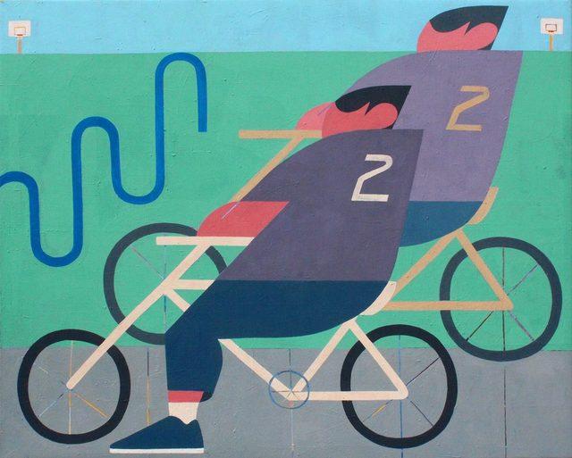 , '2 2,' 2017, Uprise Art