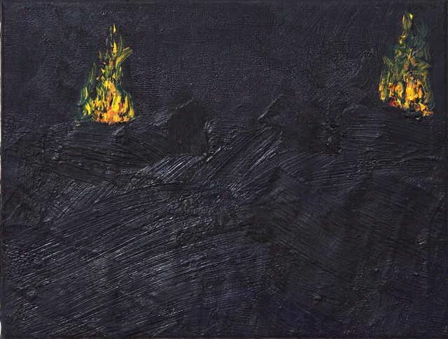 """, 'Fogo mensageiro - """"untitled No. 9"""",' 2014, oh!quadro"""