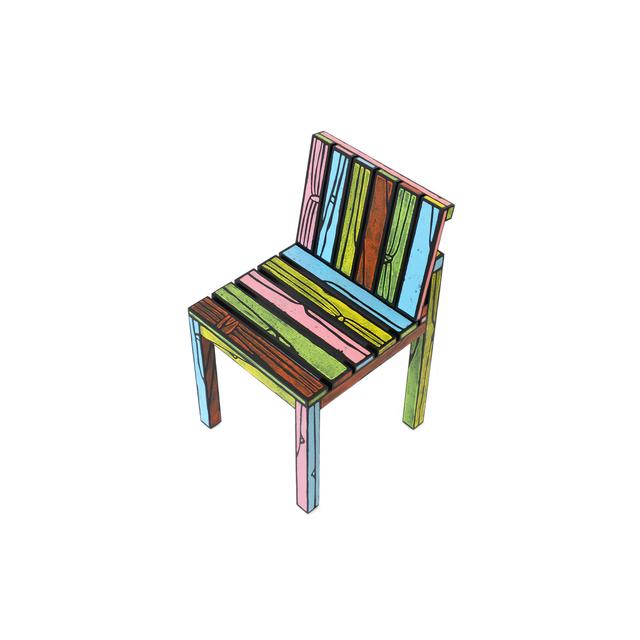 , 'Logo Chair Multicolor,' 2013, Galerie VIVID