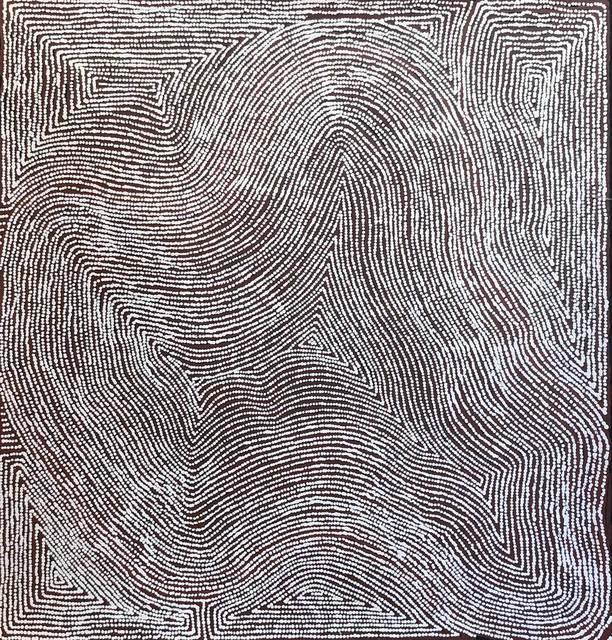 Warlimpirrnga Tjapaltjarri, 'Untitled - Men's Story at Kanapilya', 2019, Gannon House Gallery