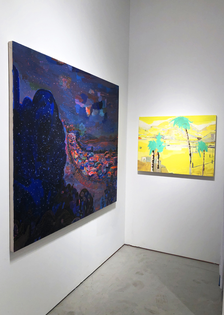 Lisa Sanditz, 'Behind the Morongo Casino', 2015, Painting, Oil on canvas, Jonathan Ferrara Gallery