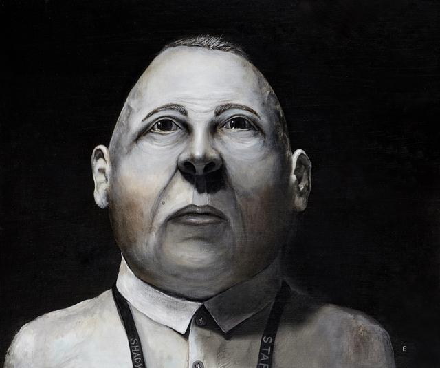 , 'Lenny the Caregiver at Shady Grove Nursing Home,' 2016, Catherine Edelman Gallery