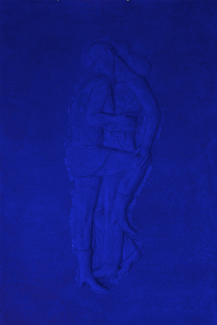, 'Blue on Blue #3,' 2015, STPI