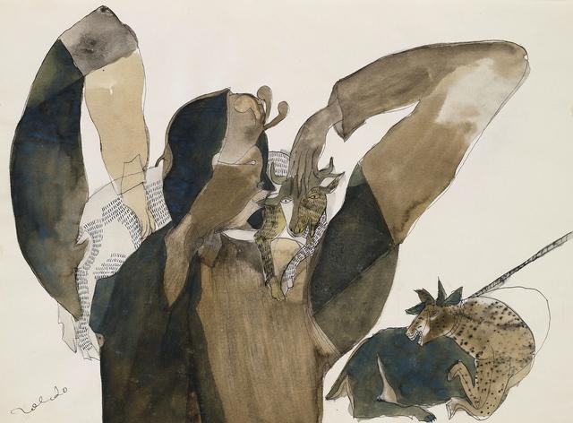 , 'Niño con Vacas (Boy with Cows),' ca. 1977, Latin American Masters