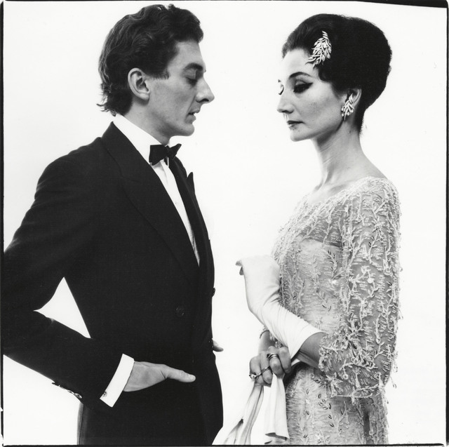 , 'The Vicomtesse Jacqueline de Ribes and Raymundo de Larrain, New York,' May 16-1961, Pace/MacGill Gallery