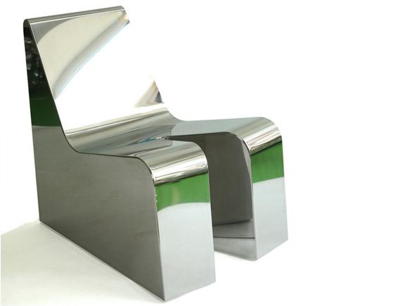 Richard Hutten, 'Sexy Relax', 2007, Design/Decorative Art, Mirror Steel, Judy Straten