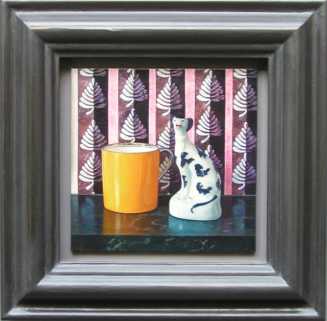 Lucy Mackenzie, 'Yellow Cup and China Dog', 2005, Nancy Hoffman Gallery