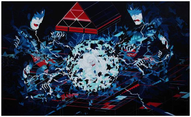 , 'Prisoner's Cinema,' 2016, Galerie Matthew Namour