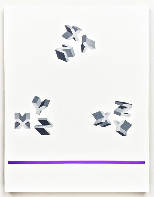 , 'Xx(x)Yy(y)Zz(z),' 2016, Meessen De Clercq