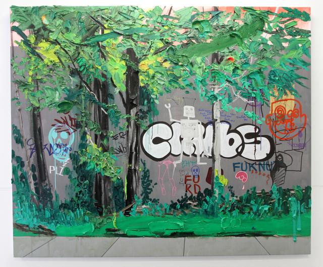, 'Wall,' 2015, Galerie Antoine Ertaskiran