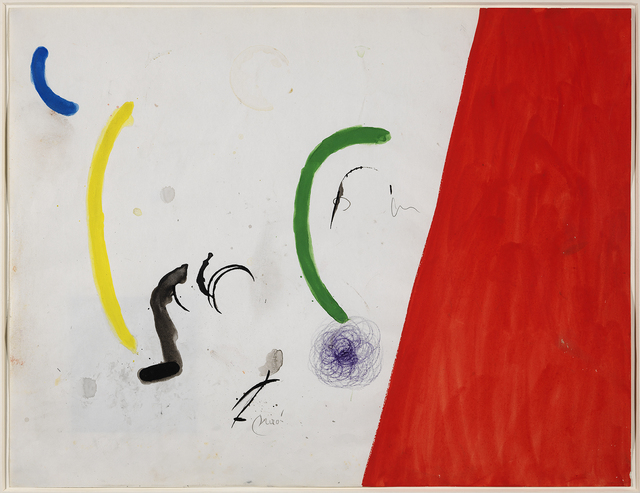 Joan Miró, 'Untitled', 1972-1973, Galeria Mayoral
