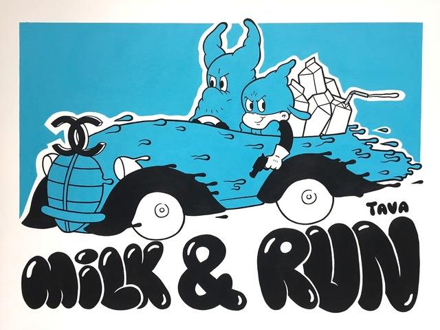 ANTOINE TAVAGLIONE, 'Milk & Run', 2017, Galerie LeRoyer