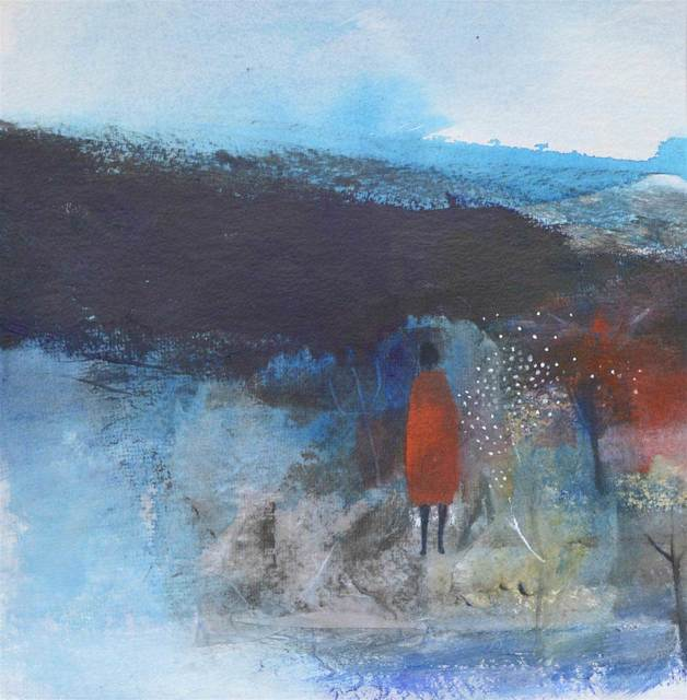 , 'I Walked to Stranraer in a Red Dress,' , Mall Galleries