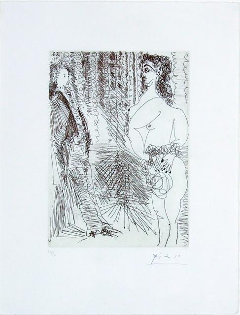 , 'Le Cabinet Particulier, Degas et une Fille,' 1971, Gormleys Fine Art