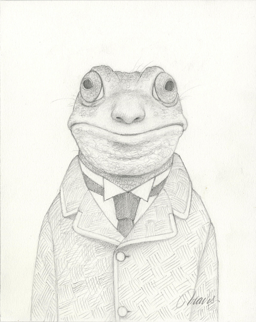 Travis Louie, 'Gary the Frogman Drawing', 2019, Haven Gallery