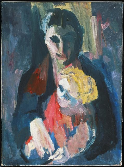 , 'The Artist's Wife and Baby ,' 1937, ARoS Aarhus Art Museum