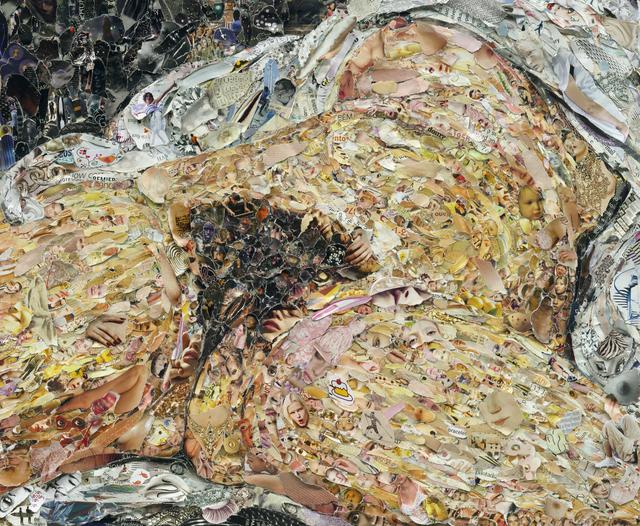 Vik Muniz, 'Pictures of Magazine 2: Origin of the World, after Courbet', 2013, Galeria Nara Roesler