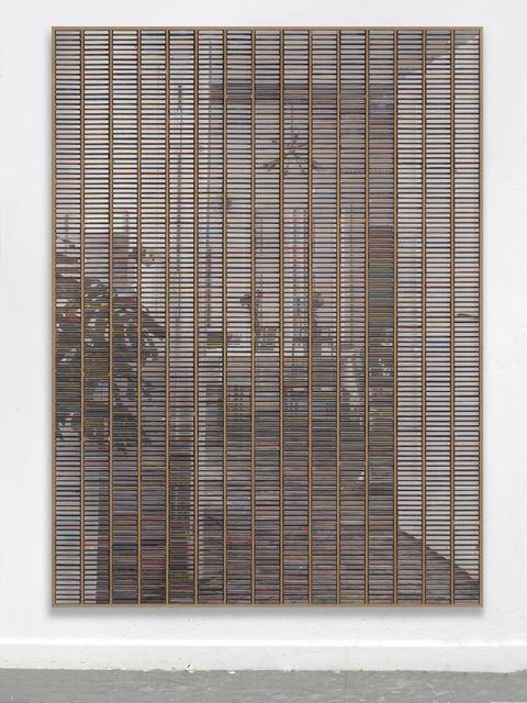 """Gregor Hildebrandt, '""""Blick ins Esszimmer vom Balkon – Zimmer aus""""', 2019, Almine Rech"""