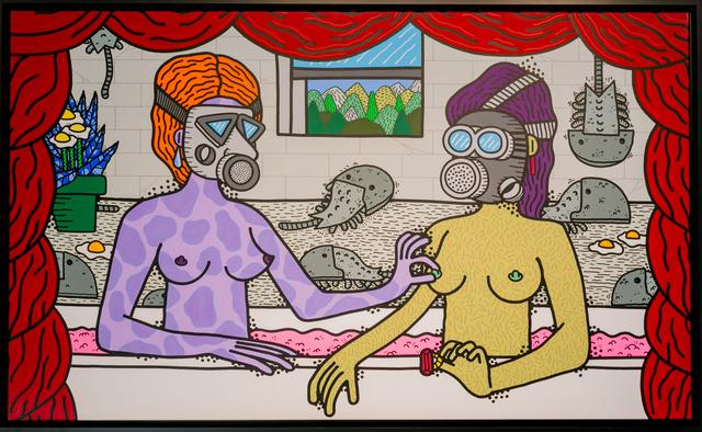 POES, 'GABRIELLE D'ESTREE ET SA SOEUR, 2K', 2017, Happy Gallery