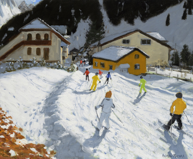, 'Skiing Back to Val Gardena, Italy,' , Jonathan Cooper