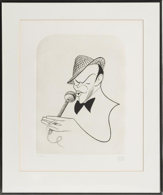 Al Hirschfeld, 'Frank Sinatra', 1984, RoGallery
