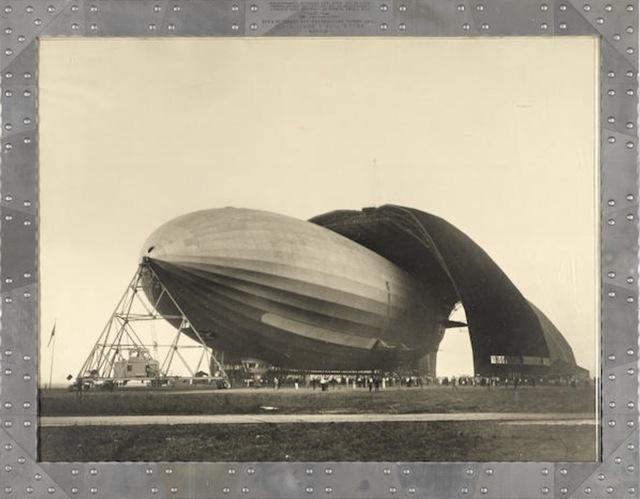 Margaret Bourke-White, 'United States Airship Akron', 1931, Photography, Silver Gelatin Print, Grob Gallery