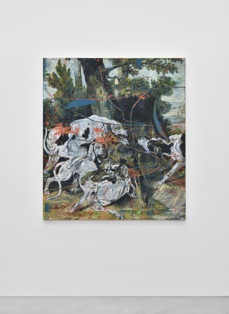 , 'Le Loup (d'après Oudry),' 2015, Galerie Christophe Gaillard