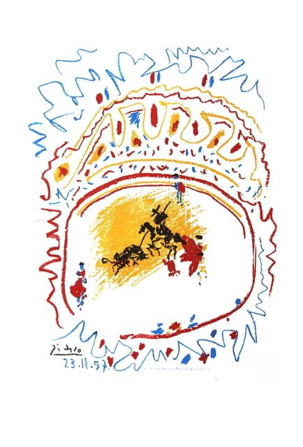 Pablo Picasso, 'Tauromachie (avant la lettre)', 1982, ArtWise