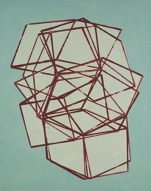 , 'Blueprint,' 2018, George Billis Gallery
