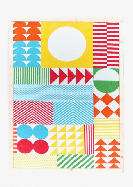 , 'Sophie Taeuber Arp - Tapisserie Dada, Composition à triangles, rectangles et parties d'anneaux,' 2016, Carrie Able Gallery