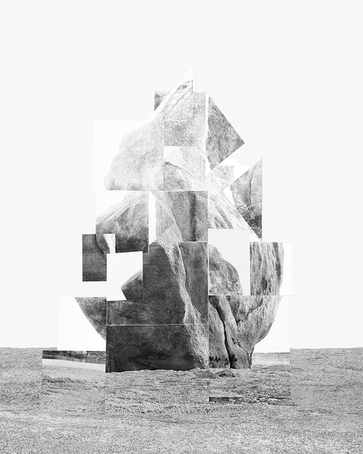 Noemie Goudal, 'Soulèvement II', 2018, Galerie Les filles du calvaire