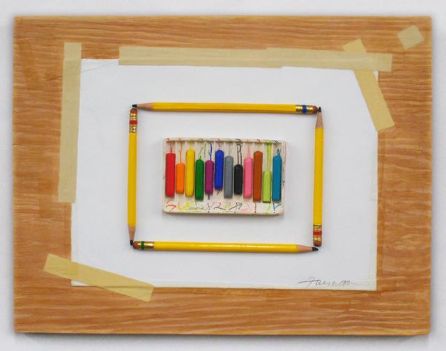 , 'Crayons and Pencils,' 2017, Lois Lambert Gallery