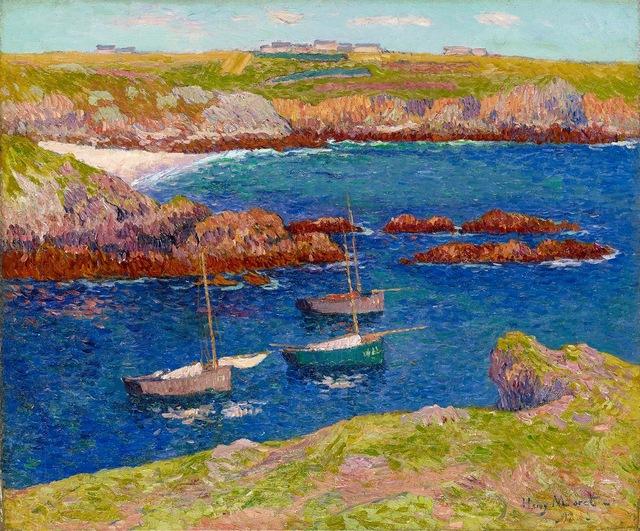 , 'La baie de Lampaul, Île de Ouessant,' 1897, Stoppenbach & Delestre
