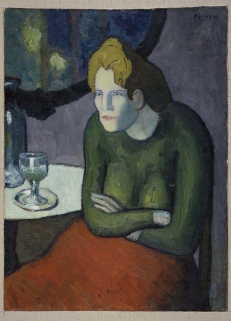 , 'Buveuse d'absinthe (The Absinthe Drinker),' 1901, Museo Reina Sofía