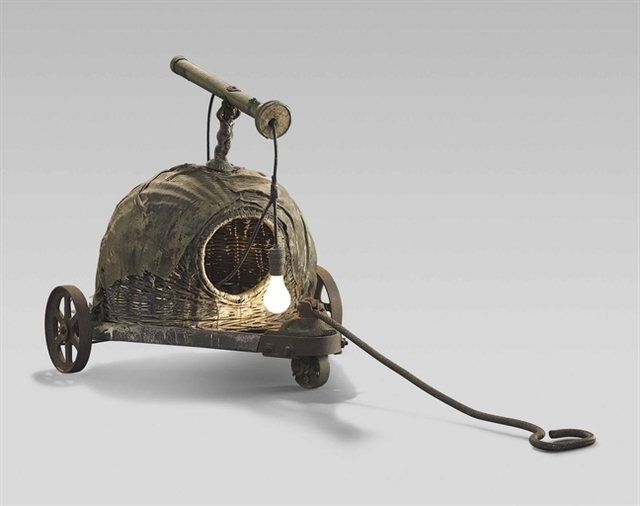 Edward Kienholz, 'Sleepy's Hollow with Handle and Wheels', Christie's