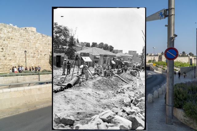 Jack Persekian, 'Digging Jaffa Road 1', 2018, Zawyeh Gallery