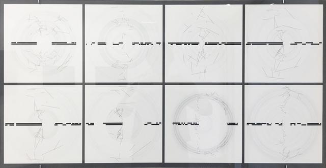 , 'P1690_2x8,' 2017, Galerie Charlot