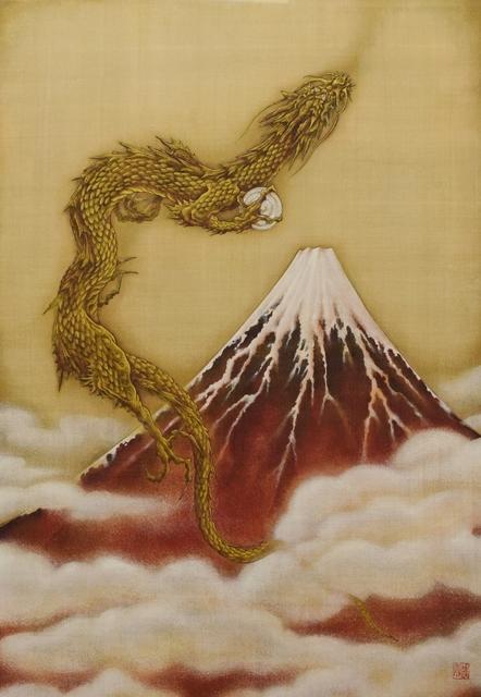 , 'Mt. Fuji in Red,' 2017, SEIZAN Gallery