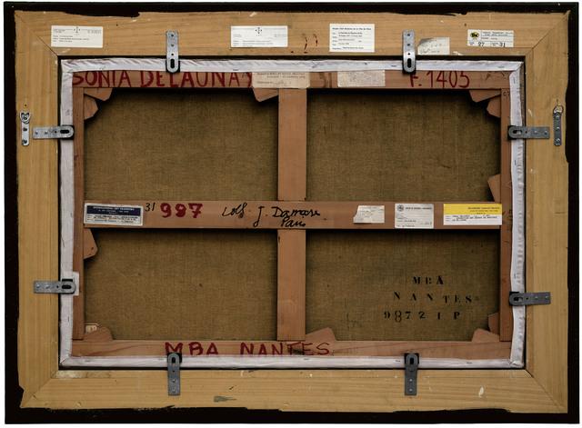 , 'Verso n°43, Le nue Jaune par Sonia Delaunay, collection du Musée des beaux-arts de Nantes,' 2010, Modernism Inc.