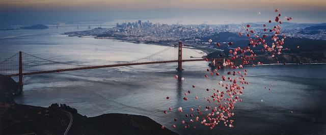 David Drebin, 'Balloons Over San Francisco', 2016, Waddington's