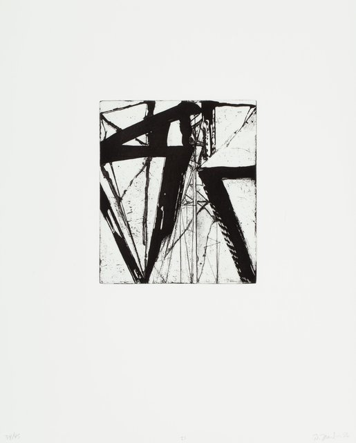 Brice Marden, 'Etchings to Rexroth, 21', 1986, Heritage Auctions