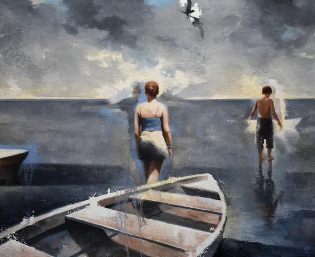 Gary Ruddell, 'Walking on Water, 1st Study', 2018, Gallery Henoch